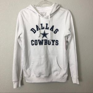 Dallas Cowboys White Hoodie